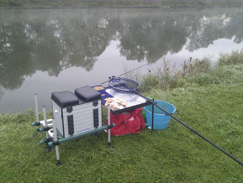 Jouer les jeux de la pêche pour deux personnes